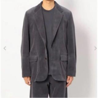 ワンエルディーケーセレクト(1LDK SELECT)のAURALEE 19aw washed corduroy jacket(テーラードジャケット)