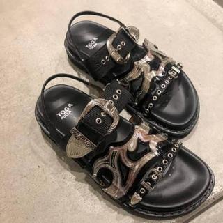 TOGA - 【20日まで出品】完売商品Metal Shark Sole Sandal