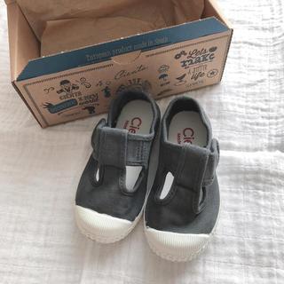 コドモビームス(こどもビームス)のCienta シエンタ Tストラップスニーカー 子供 ベビー 靴 22(スニーカー)