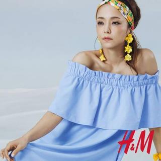 エイチアンドエム(H&M)の安室奈美恵×H&Mコラボ フラワーヘアバンド(ミュージシャン)
