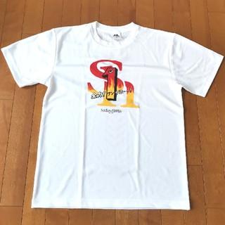 福岡ソフトバンクホークス - 福岡ソフトバンクホークス 全力!ワンダホー! Tシャツ Lサイズ