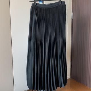 エンフォルド(ENFOLD)のclane クラネ ブラックロングスカート(ロングスカート)