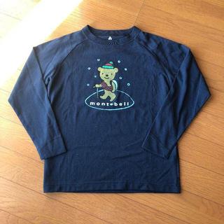 モンベル(mont bell)の美品☆モンベル/長袖Tシャツ130㎝(Tシャツ/カットソー)