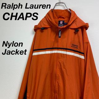 ラルフローレン(Ralph Lauren)の古着 ラルフローレン チャップス ナイロン ジャケット ハーフ丈 フード付き(ナイロンジャケット)