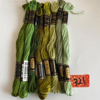 オリンパス(OLYMPUS)のオリムパス刺繍糸321(生地/糸)