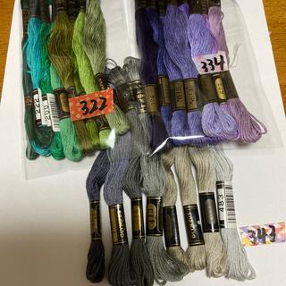 オリンパス(OLYMPUS)のオリムパス刺繍糸322(生地/糸)