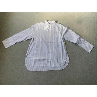 ルシェルブルー(LE CIEL BLEU)のルシェルブルーLECIELBLEU ストライプ2wayシャツ 36(シャツ/ブラウス(長袖/七分))