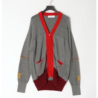トーガ(TOGA)のTOGA VIRILIS Rib knit cardigan (カーディガン)