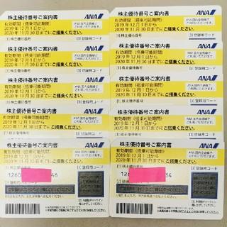 エーエヌエー(ゼンニッポンクウユ)(ANA(全日本空輸))のANA 株主優待  10枚(航空券)