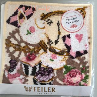 フェイラー(FEILER)のフェイラー イギリス限定 イングリッシュティーパーティー数量限定品 バニラ(ハンカチ)