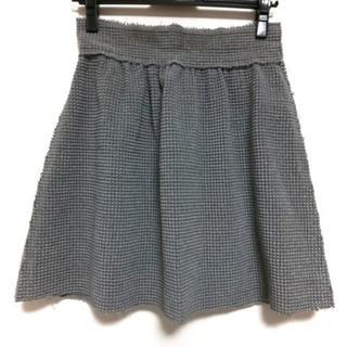 フェンディ(FENDI)のフェンディ ミニスカート サイズ38 S美品 (ミニスカート)