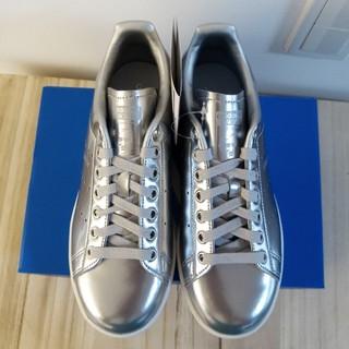 アディダス(adidas)のスタンスミス adidas スニーカー silver(スニーカー)