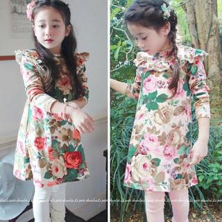 アンバー(Amber)の韓国子供服Amberの新品ワンピース(ワンピース)