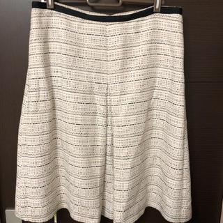 タルボット(TALBOTS)のタルボット ツィードスカート(ひざ丈スカート)