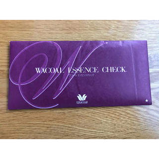 ワコール(Wacoal)のワコール エッセンスチェック 6000円分 未開封(ショッピング)