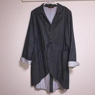 キャピタル(KAPITAL)のKAPITAL デニム ジャケットコート ユニセックス 傷汚れ・着用感あり(テーラードジャケット)