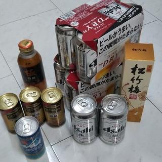 アサヒ - アサヒスーパードライ  コーヒー  日本酒  合計23本