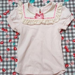 シャーリーテンプル(Shirley Temple)のシャーリーテンプル セーラーカットソー100(Tシャツ/カットソー)