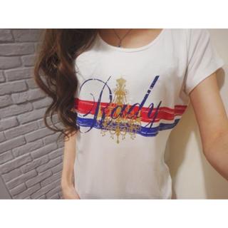 Rady - かすれシャンデリアTシャツ