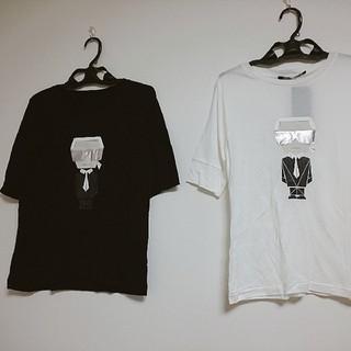 カールラガーフェルド(Karl Lagerfeld)のカールラガーフェルド 2枚セット (Tシャツ(半袖/袖なし))