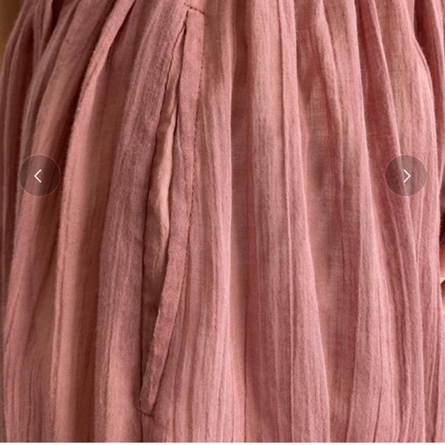 earth music & ecology(アースミュージックアンドエコロジー)の早い者勝ちです。earthギャザーマキシスカート  レディースのスカート(ロングスカート)の商品写真