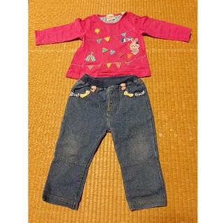 アカチャンホンポ(アカチャンホンポ)のロンT+ズボンセット(Tシャツ)