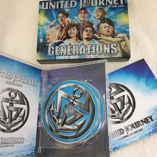 ジェネレーションズ(GENERATIONS)のGENERATIONS UNITED JOURNEY Blu-ray(ミュージック)