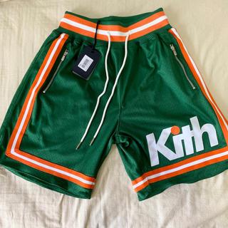 シュプリーム(Supreme)のセール中 新品 KITH ミッチェルアンドネス バスケットボールショーツ XS(ショートパンツ)