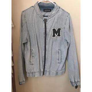 セシルマクビー(CECIL McBEE)のジャケット ディズニー ブルゾン ミッキー CECIL McBEE(Gジャン/デニムジャケット)