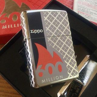 ジッポー(ZIPPO)の新品 Zippo 総生産数6億個記念ライター 限定品(タバコグッズ)
