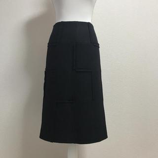 シビラ(Sybilla)のシビラ シンプルながらも上品なデザイン♡美シルエットのウールスカート!(ひざ丈スカート)