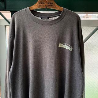 クイックシルバー(QUIKSILVER)の90s QUIKSILVER オールドサーフ ロンT プリントTシャツ デカロゴ(Tシャツ/カットソー(七分/長袖))