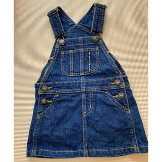 ブリーズ(BREEZE)のデニム サロペット ジャンパースカート 90 breeze(スカート)