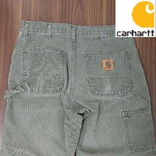 carhartt - 【Carhartt】カーハート ペインターパンツ 革ロゴ メンズ34×30 古着