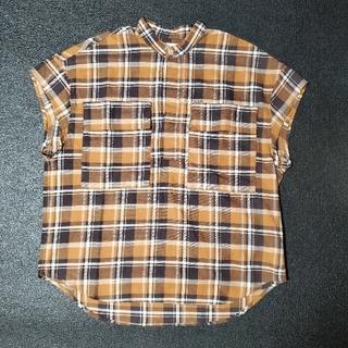 フィアオブゴッド(FEAR OF GOD)のFEAR OF GOD SLEEVE LESS  CHECK SHIRT シャツ(Tシャツ/カットソー(半袖/袖なし))