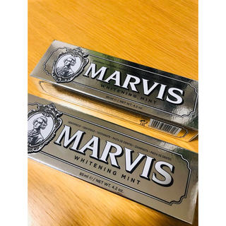 MARVIS - MARVIS ホワイトニング 歯磨き粉 85ml 2点セット