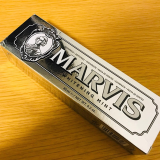 MARVIS - MARVIS ホワイトニング 歯磨き粉 85ml