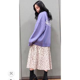 エヌエムビーフォーティーエイト(NMB48)の村瀬紗英ちゃん♡ANDGEEBEE♡スカート(ロングスカート)