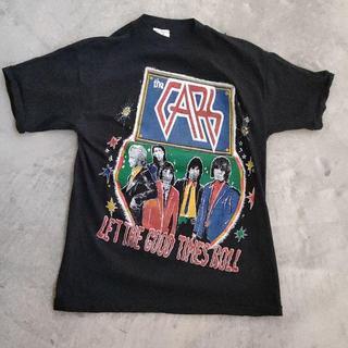 アメリヴィンテージ(Ameri VINTAGE)の【激レア】70年代 パキ綿 THE CARS バンドTシャツ(Tシャツ/カットソー(半袖/袖なし))
