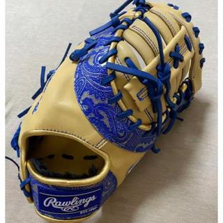 Rawlings - ローリングス 一般軟式 一塁手 ファーストミット 限定カラー ペイズリー ブルー