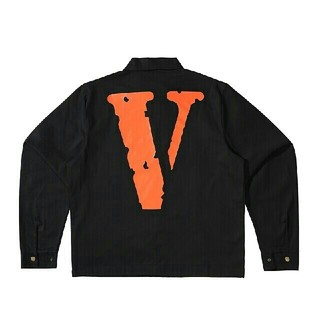 オフホワイト(OFF-WHITE)のVLONE Jail Jacket 555555 Black/Orange M(ブルゾン)