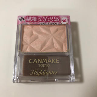 CANMAKE - キャンメイク ハイライター N01 シルキーベージュ