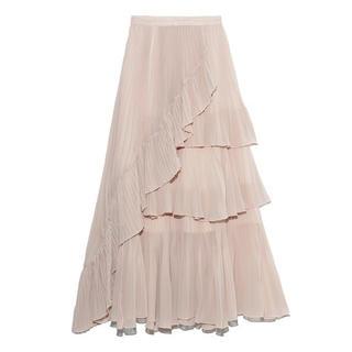 シンディー(SINDEE)のスナイデル シアーボリュームプリーツスカート(ロングスカート)