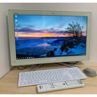ソニー(SONY)のVAIO  地デジ BS/CS W録画 i5 SSD Win10 Office(デスクトップ型PC)