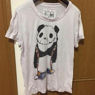 スカラー(ScoLar)の【scolar】パンダ アニマル ゆるTシャツ 半袖(Tシャツ(半袖/袖なし))