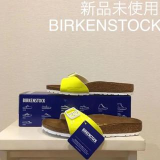 ビルケンシュトック(BIRKENSTOCK)の【新品未使用】BIRKENSTOCK MADRID マドリッド パテント(サンダル)