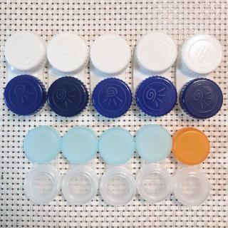 ロートセイヤク(ロート製薬)の新品 コンタクトケース コンプリート 10個(旅行用品)