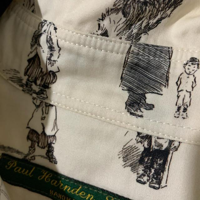 Paul Harnden(ポールハーデン)のポールハーデン/Paul Harnden ラウンドカラープリントシャツ レディースのトップス(シャツ/ブラウス(長袖/七分))の商品写真
