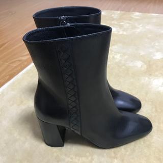 ボッテガヴェネタ(Bottega Veneta)の新品未使用 ボッテガヴェネタ BOTTEGAVENETA ショートブーツ 34+(ブーツ)