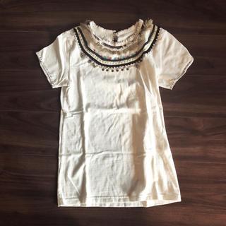 ユナイテッドアローズ(UNITED ARROWS)のrhythm 刺繍 Tシャツ marble sud マーブルシュッド リズム(Tシャツ(半袖/袖なし))